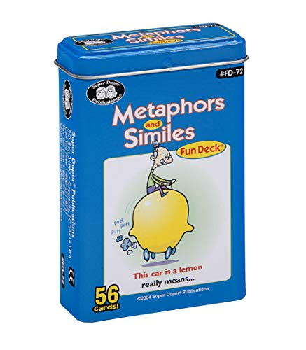 Metaphors and Similes Fun Deck Flash Cards