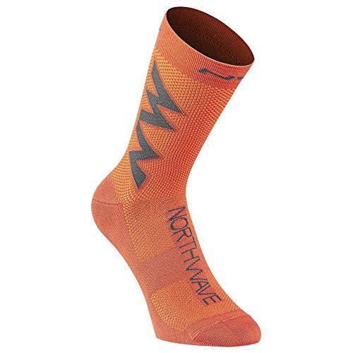 Northwave Extreme Air 2021 - Calcetines para bicicleta (talla L, 44-47), color naranja
