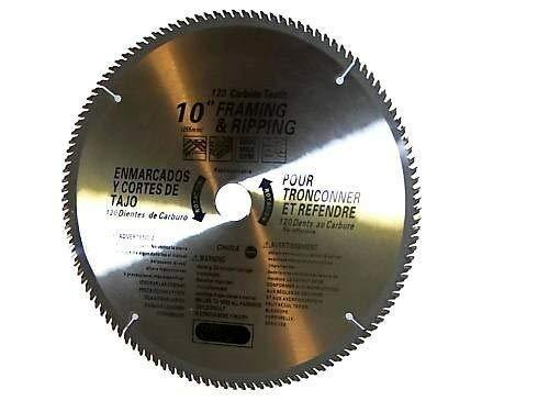 "(Best tools) 2 pcs 10"" saw blades 120th carbide teeth Miter Saw Table Saw Wood Cutting Disc"