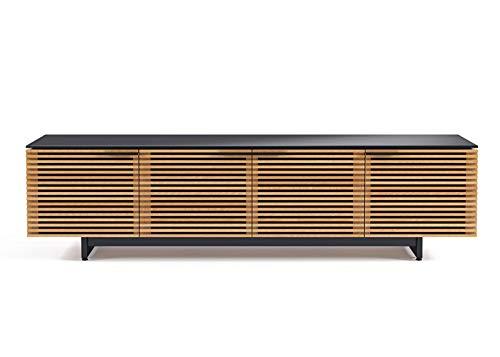 BDI Furniture Corridor Low Media Cabinet, White Oak