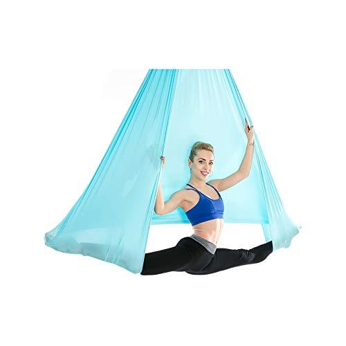 WZPG Amaca di Yoga Aerea, Amaca Yoga Anti-Gravity, Femmina Professionale Fitness Yoga Swing Suit Bodybuilding Training