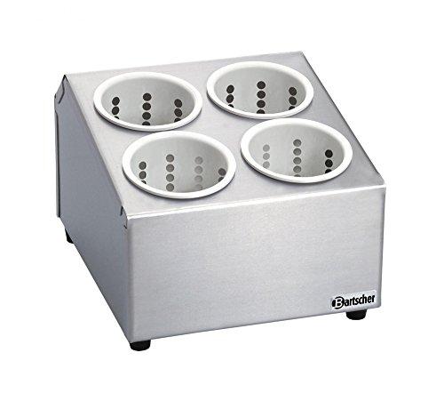 Bartscher Besteckbehälter mit 4 Besteckköchern - A500395