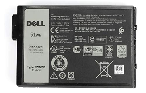 Dell Genuine Latitude Rugged 5420 5424 7424 Battery 3 Cell 51Whr DMF0C 7WNW1