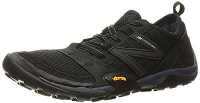 New Balance Women's Minimus 10 V1 Trail Running Shoe, Black/Thunder, 8.5 M US