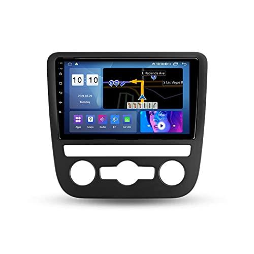 ADMLZQQ Autoradio per Volkswagen Scirocco 2009-2014 2 DIN Android con Bluetooth 9'' IPS Touchscreen WiFi Plug And Play Completo RCA SWC Supporto Carautoplay/GPS/Dab+/OBDII,M300s