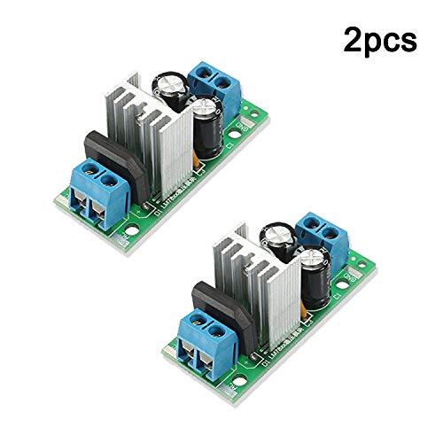 Ruiboury L7812 LM7812 Trois R/égulateur de Tension 12V Terminal Module R/égulateur R/églement/é Module dalimentation 12V Module
