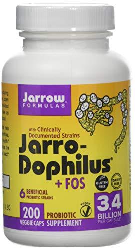 Jarrow Formulas Jarro-Dophilus Plus FOS Multivitamin Capsules, 200-Count