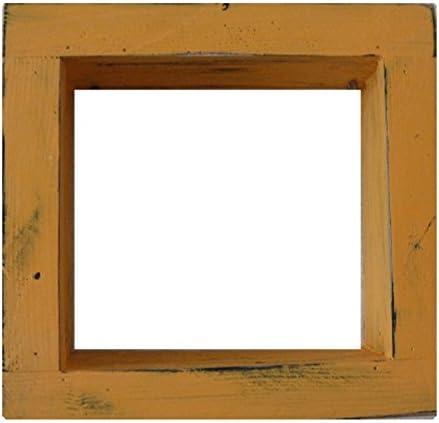 Square Wood Wooden Shadow Box Display 6