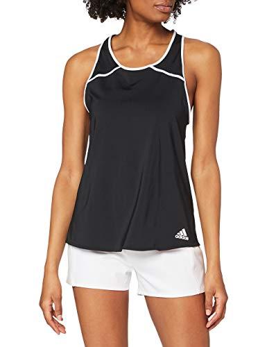 adidas Club BK0717_M Camiseta de Tenis, mujer, Negro (Black/White), Medium