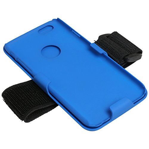 Ultrasport - Funda Brazalete para iPhone 6, Azul