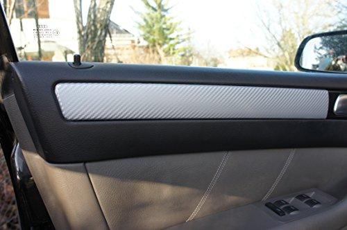 A4 B8 Limo Avant Cabrio ORIGINAL 3D CARBON ZIERLEISTEN SET, 15 teiliges Folienset aus 3D Carbon Silber Folie, für den Innenraum Ihres Fahrzeug siehe unter Details