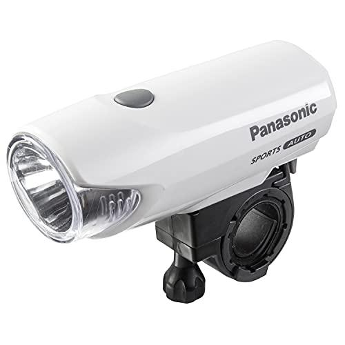 パナソニック(Panasonic) LEDスポーツかしこいランプ NSKL137 ホワイト自転車
