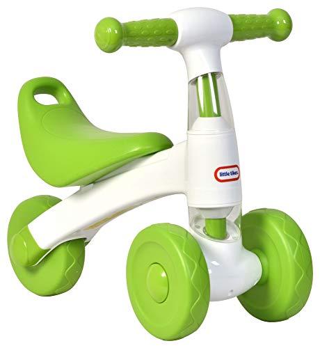 Little Tikes - Bicicletta da passeggio, colore: bianco e verde
