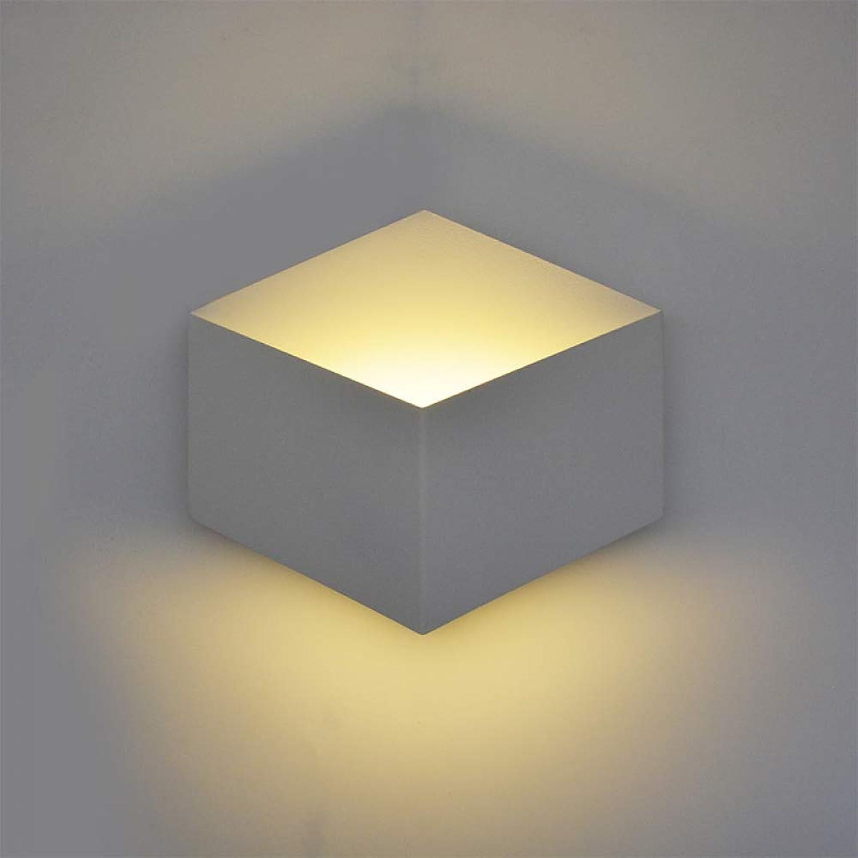 DLKKL Led Aluminium Wandleuchte Badezimmer Wandleuchten Wandleuchte Schlafzimmer Wohnzimmer leuchte leuchte