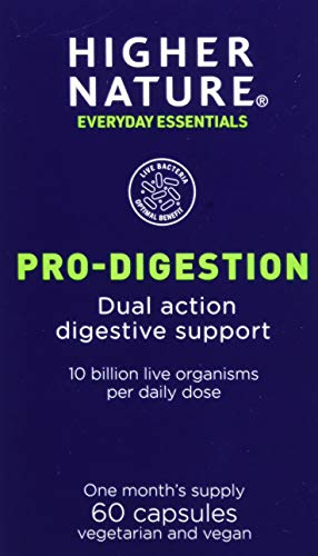Higher Nature Pro-Digestion 60 Capsules, 60 g