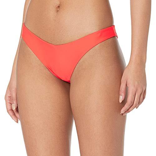 Volcom Damen Simply Solid Vbottom Bikini-Set, Elektrische Koralle, XX-Large