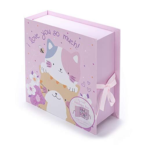 Tri-Coastal Design - Caja de Primeros Recuerdos de Bebé Con 9 Cajas Para Guardar Los Recuerdos y...