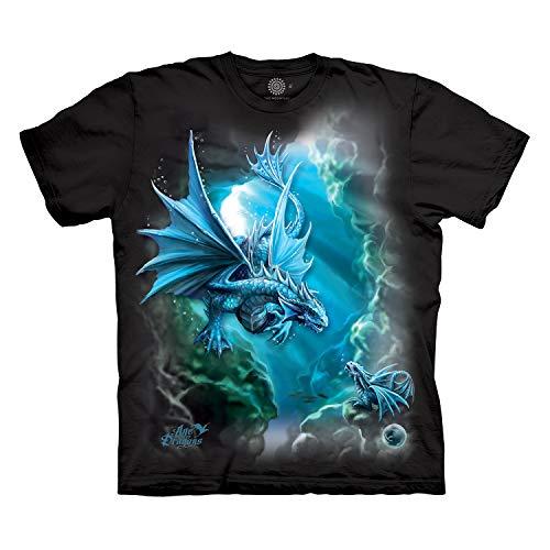 The Mountain Men's Deep Sea Dragon T-Shirt, Black, 2XL
