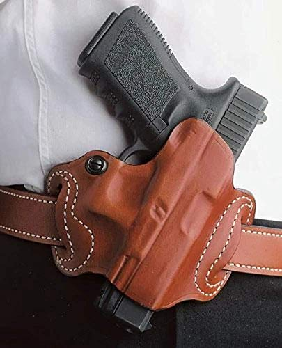 Gunhide, 086, Mini Slide, Belt Holster, Fits SIG SAUER P365, Right Hand, Tan Leather