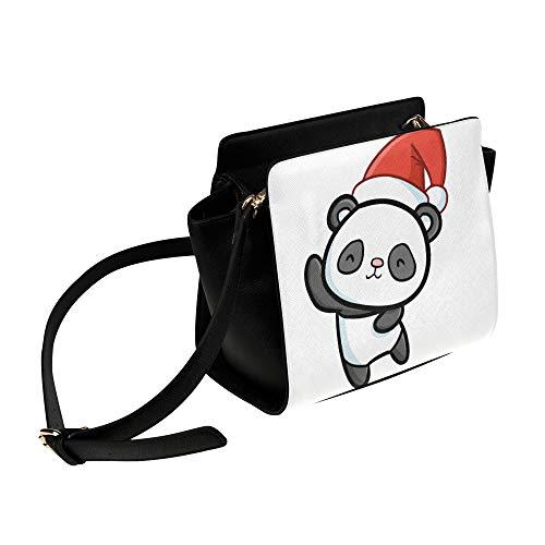 Rtosd Bolso de mujer de lujo que baila el bolso de la mochila del panda gigante divertido Bolsos de bandolera Bolsos de viaje Bolsos de hombro de lona Equipaje para dama Chica Mujer Bolsos