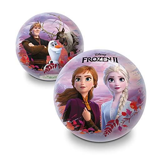 Mondo-5494 Mondo Toys Ball-Palla 140 cm Frozen II BIO-per bambina/bambino-multicolore-BioBall-05494, Colore Rosa, 14 cm, 5494