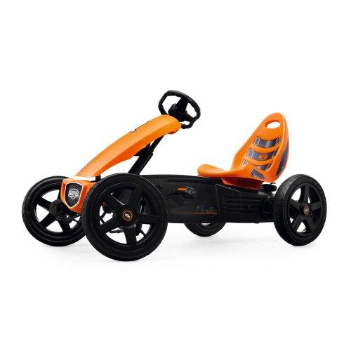 Berg Toys 24.40.00.00 GoKart Rally Kinderfahrzeug, SCHWARZ/OR