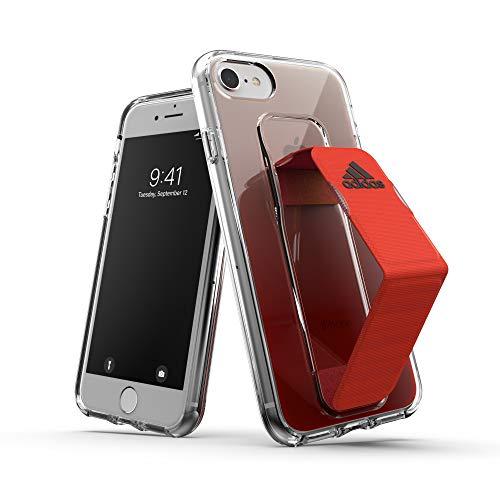 adidas Apple iPhone SE (2020) / 8/7 / 6s / 6 Carcasa, Carcasa Transparente Deportiva