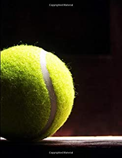 Tennis Ball Shadow Notebook: Sermon Notes Journal for Church Note-Taking