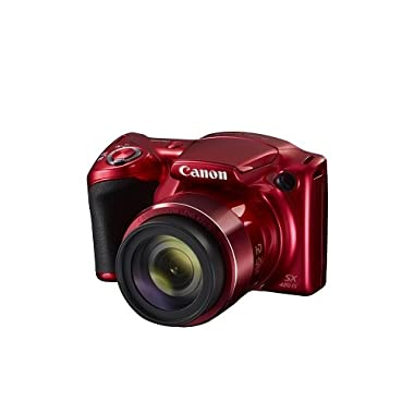 Canon PowerShot SX420 Digital Camera w/42x Optical Zoom - Wi-Fi & NFC Enabled (Red)