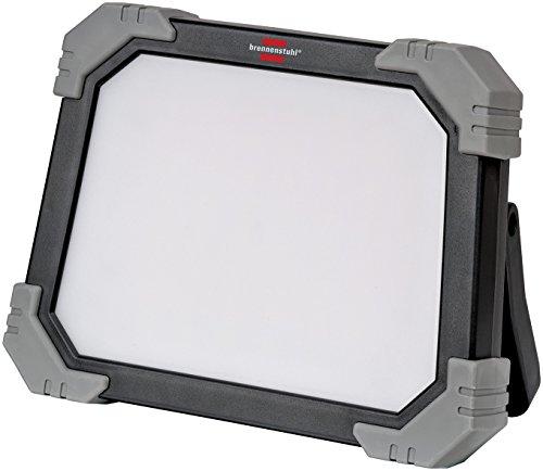 Brennenstuhl Mobiler LED Strahler DINORA 3000 / LED Baustrahler für den ständigen Einsatz im Außenbereich (LED Arbeitsstrahler 24W, 3m Kabel, IP65, bruch- und schlagfestes Kunststoffgehäuse)