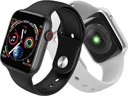 Amazon.com: MHSHYSQ W34 Smart Watch Adult Phone high-end A1 Sports Children  Heart Rate series4 Smart Watch,Black: Sports & Outdoors