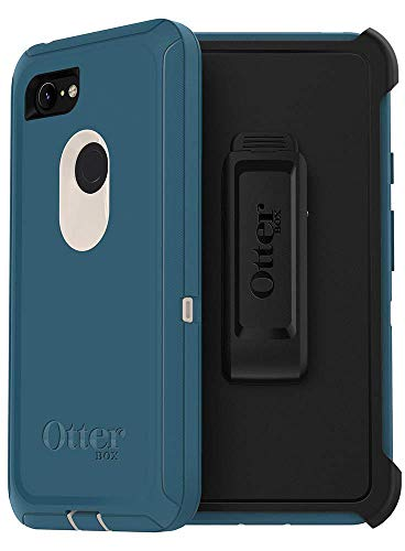 OtterBox Defender Series Case & Holster for Google Pixel 3 - Non-Retail Packaging - Big Sur