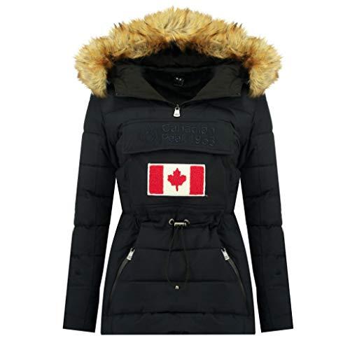 Canadian Peak Chaqueta Mujer BUNATEAK Negro 01