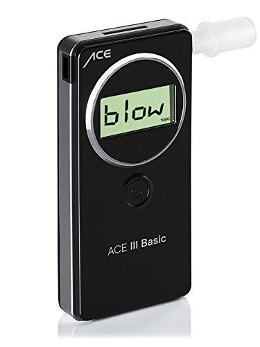 ACE Alkoholtester III Basic, TU-Wien-Messgenauigkeit: 95,60% - Polizeigenau