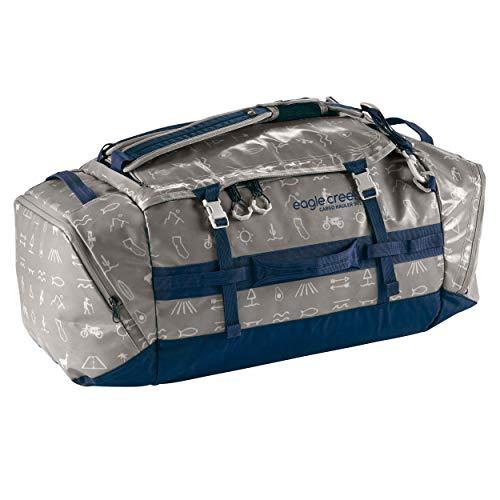 Eagle Creek Cargo Hauler Duffel Bag 90L, faltbare Reisetasche, aus abrieb- & wasserbeständigem TPU-Gewebe, großer Rucksack und Koffer in einem, Cali Hiero, L