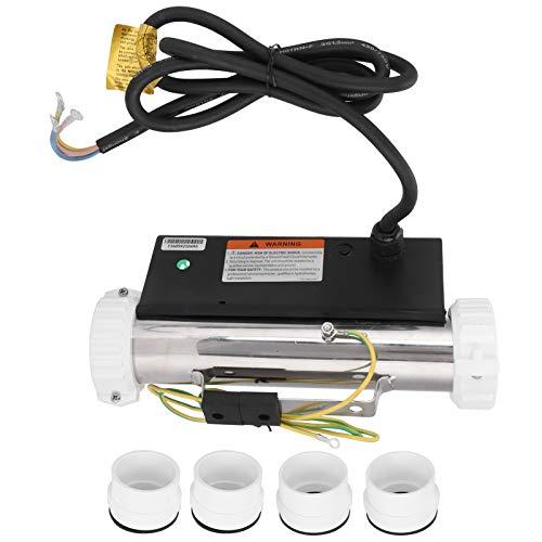 Calentador de bañera de acero inoxidable Calentador de termostato de SPA de masaje Equipo de calentamiento de circulación de bañera para funciones de calefacción y temperatura constante