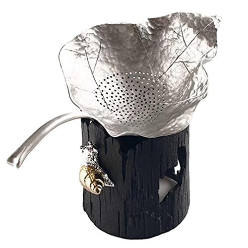 1 Unid Hojos Food Tea Infusador Hoja Hoja Mapila Filtro...