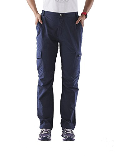 Nonwe Women's Outdoor Quick Drying Cargo Pants Blue...