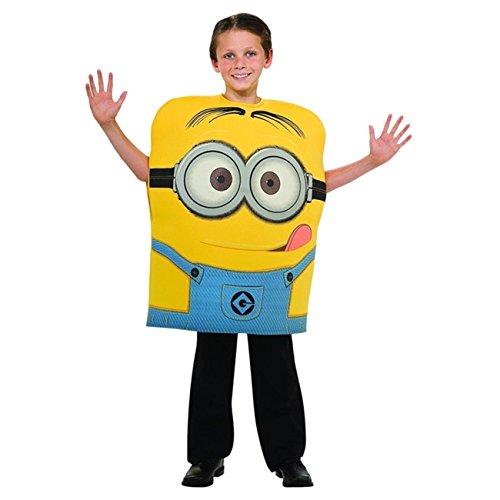 Kinder Minion Dave Schaumstoff Kostüm 5–6Jahre