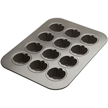 Chicago Metallic 12-cup Lift & Serve Mini Pumpkin Cheesecake Pan