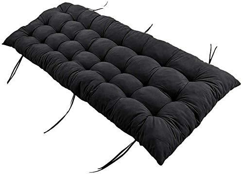 Wuwei, comodo cuscino lungo per divano da 2 a 3 posti, per panca da giardino e per esterni, imbottitura spessa per mobili e divani, tappetino di ricambio per materasso Tatami