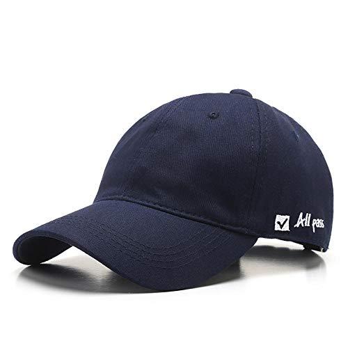 Gorra de béisbol de Moda para Hombres y Mujeres, Gorra Informal de algodón con Viseras de Verano, Gorra Ajustable, Unisex-4
