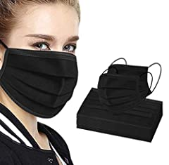 Disposable face masks, 3 layers protective, 50 masks/pack The disposable face mask cover your nose, mouth, and chin for full protection The face masks are with earloops and a melt-blown polypropylene filtration layer These face masks should be dispos...