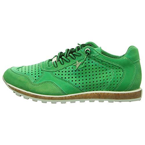 Cetti Herren Sneaker C-848 Nature TIN WASH Hawai grün 590480