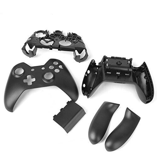 Conjunto de botões Almencla Controller para Microsoft Xbox One Carcaça de invólucro Faceplate, Tampa de polegar, ABXY, D-pad Mod, T6 T8 Kit de reparo de chaves de fenda