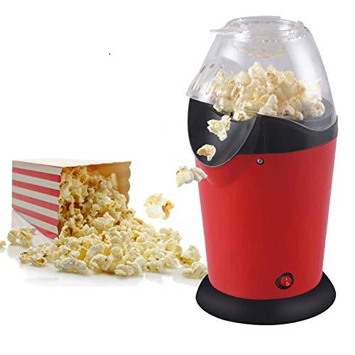 YFGQBCP Popcornmaschine Heißluft-Popcorn Popper, 1200W Popcorn-Maschine, elektrische Popcornmaschine for den Heimgebrauch, kein Öl benötigt mit Messbechern und abnehmbaren Deckel