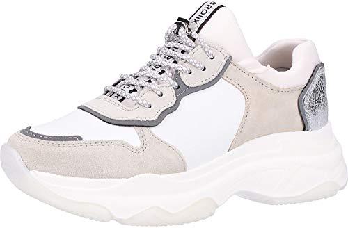 Bronx 66167-A Damen Sneakers Weiß, EU 37