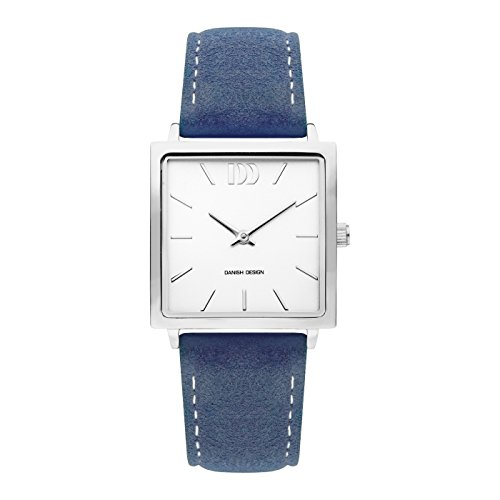 Danish Design Damen Analog Quarz Uhr mit Leder Armband IV22Q1248