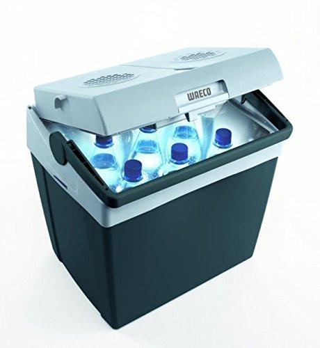 Thermo-elektrische koelbox T 30 - inhoud 30 liter - koelbox met 12/230 volt aansluiting - Verdrijf door - Holly ® producten STABIELO ® - holly-sunshade ® - gepatenteerde innovaties op het gebied van mobiele universele zonnebescherming - Made in Germany -