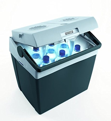 MOBICOOL koelbox T 30 -WAECO - koelbox 29 liter - thermo-elektrische - 12 V DC + 230 V AC - verkoop Holly producten STABIELO - holly-sunshade ® - aansluitkabel 12/24 Volt zie ASIN: B01BPETQG8 -